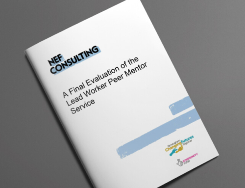 A Final Evaluation of the Lead Worker Peer Mentor Service – 2019