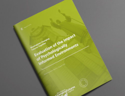 Evaluation of the impact of Psychologically Informed Environments – August 2019